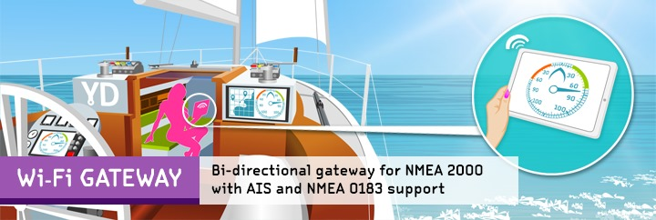 NMEA to WiFi: NMEA 2000 Wi-Fi Gateway