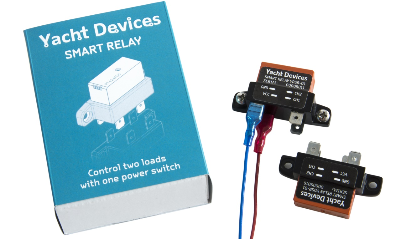 Yacht Devices News Smart Relay Our First Non Nmea Product Wiring Diagram Ydsr 01