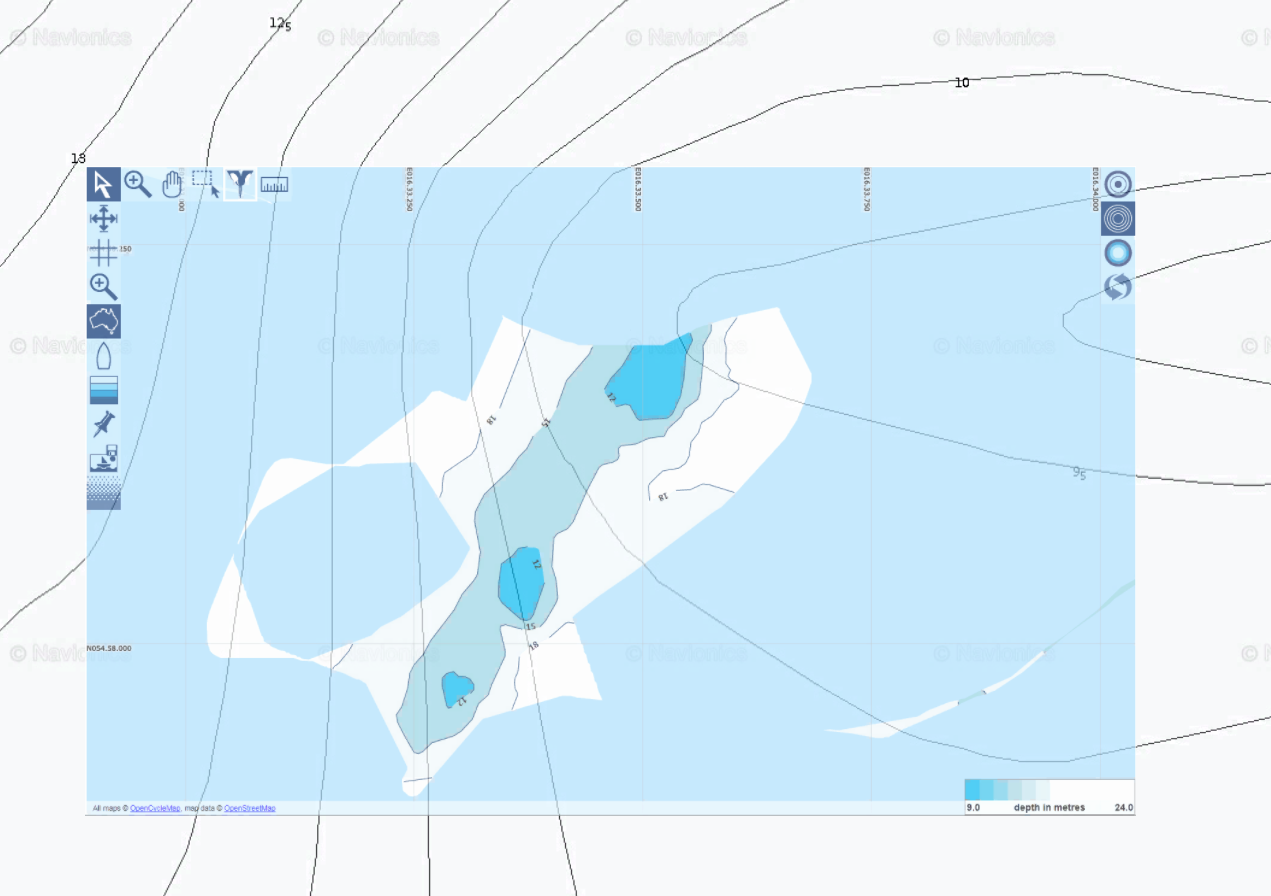 Yacht Devices News: Your own depth map with Voyage Recorder