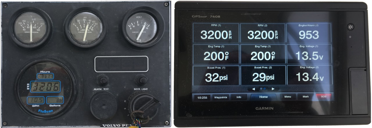Yacht Devices News: Firmware 1.02 for J1708 Engine Gateway on