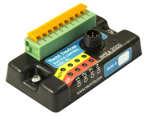 Marine electronic products from Yacht Devices